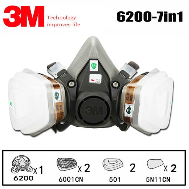 3m chemical respirator mask