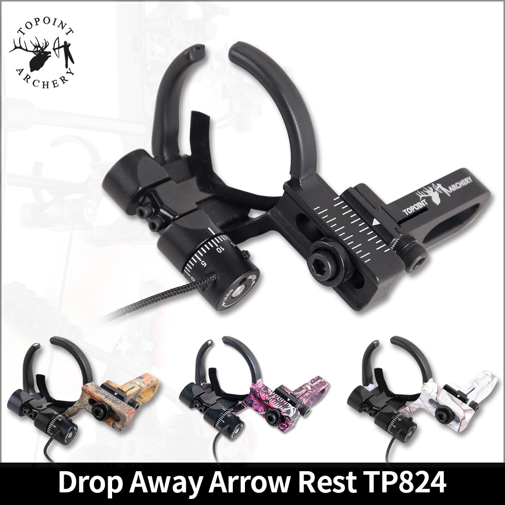 1pc Drop Away Arrow Rest  Adjustable Speed Arrow Rest For Compound Bow Left/Right Fall Away Arrow Rest TP824,