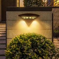 Hotxin 4W LED Outdoor Wall Lamps IP65 Waterproof Garden Porch Light AC85 265V Villa Fence Corridor Balcony Gateway Wall Lamp