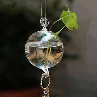 Прозрачное стекло ваза висит/Висячие Ваза/Творческий гидропоники цветок/природных