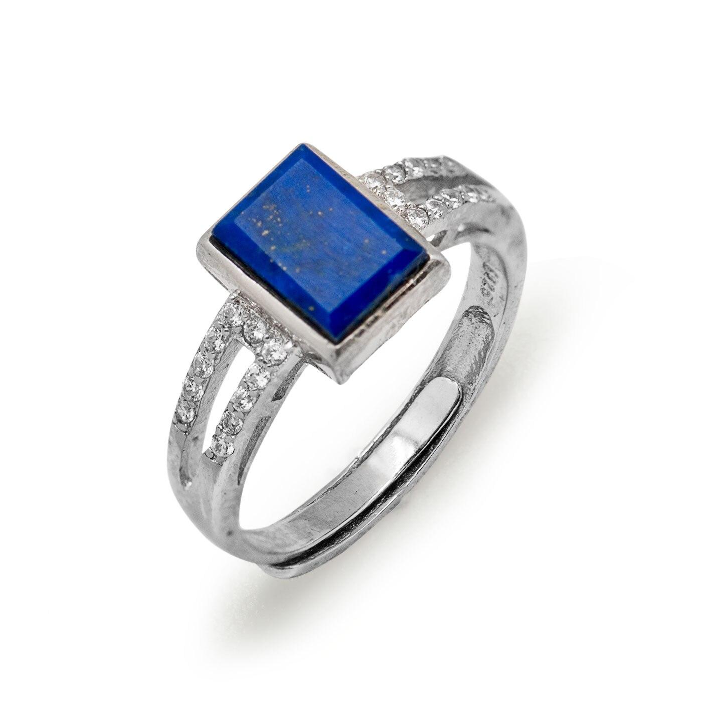 Lovely Lapis Lazuli Wedding Ring Wedding