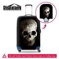 Cráneo Claro trolley equipaje cubiertas protectoras cubierta fresca equipaje maleta de viaje de poliéster elástico protector de la cubierta para adultos