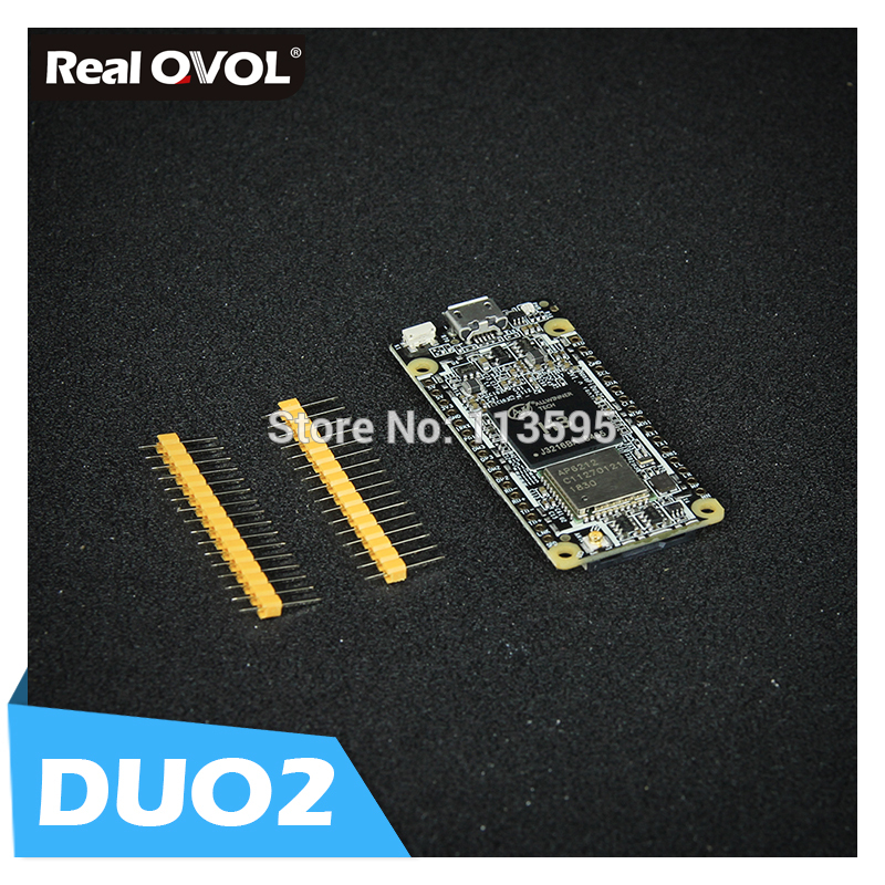 RealQvol FriendlyARM NanoPi DUO2 512M Allwinner H3 Cortex-A7 WiFi Bluetooth Module UbuntuCore Light-weight IoT Applications