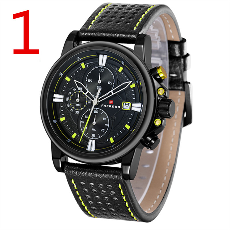 zou's 2018 Men's Watch Ultra-thin Quartz Watch Trendy Waterproof Quartz Men's Watch