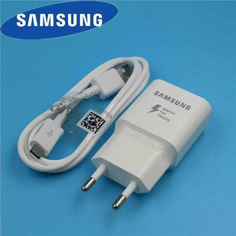 Original EU Samsung Galaxy S7 edge Fast Charger qc 3 0 quick charge Usb Travel adapter For a8 a6 a5 Note 4 5 J3 J5 2017 J7 S6 S4 in Mobile Phone Chargers from Cellphones Telecommunications