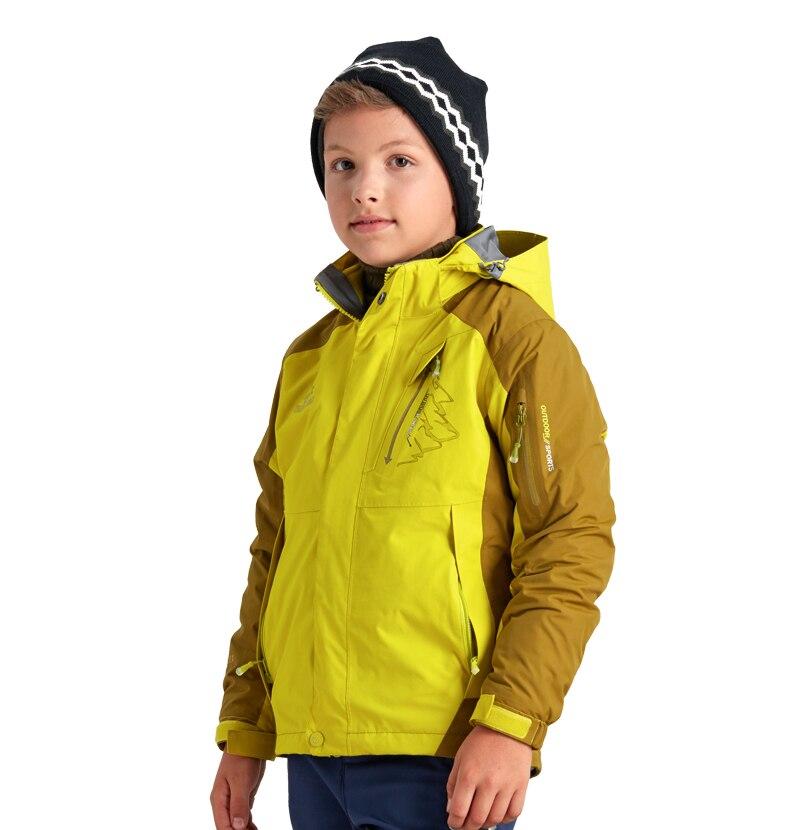 564ea737c Tectop Winter 3 in 1 Kids Hiking Jackets Children Boys Girls Outdoor ...