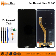 5 Colors in stock 6.0 For Huawei nova 2s LCD Display + Frame Touch Screen Digitizer Assembly Nova 2s HWI-AL00 Replacement