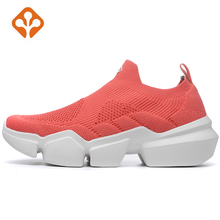 2019 Womens Thick Sole Outdoor Trainers Gym Running Shoes Sneakers For Women Sport Fitness Jogging Woman
