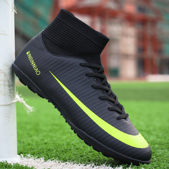 Soccer Boots Turf TF & Long Spikes Indoor Futsal Sneakers Men Soccer with Cleats Original Cheap Football Sports for Women & Men