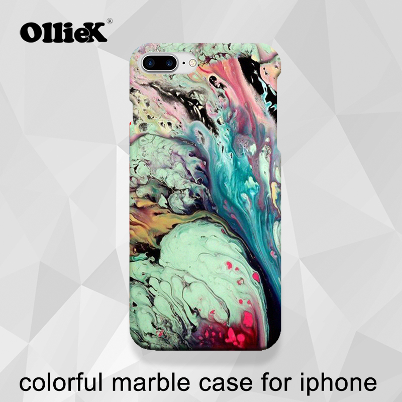 buy popular a8d5b fe68a US $6.99 |Free shipping hot granite design case for iphone7plus,fashion  colorful marble case for iphone 6,7,support custom logo be printed-in  Fitted ...