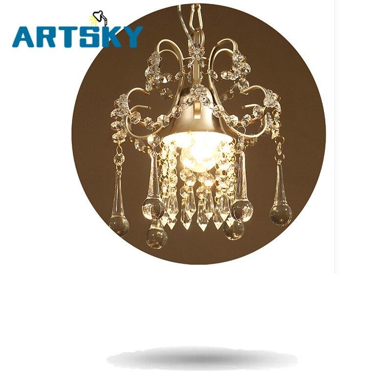 Country GoldCrystal Rain Drop Chandeliers for Dining Room Kitchen Bedroom Restaurantl chandeliers for dining room