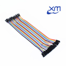 40pcs in Row Dupont Cable 20cm 2.54mm 1pin 1p-1p female to female jumper wire