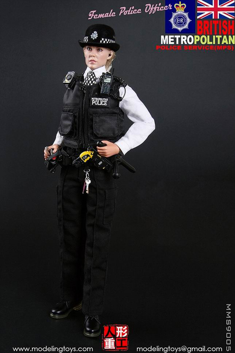 Coreplay MODELING TOY MMS9005 1/6 UK Scotland Yard London Policewoman Action Figure Toys for Fans Collection Gifts 1