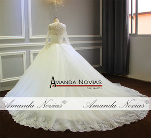 Image 4 - robe de mariee 2019 Puffy Ball Gown Princess Wedding Dress New Model