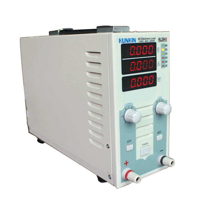 Single channel DC electronic load instrument LED driving power supply with load battery detector KL284S