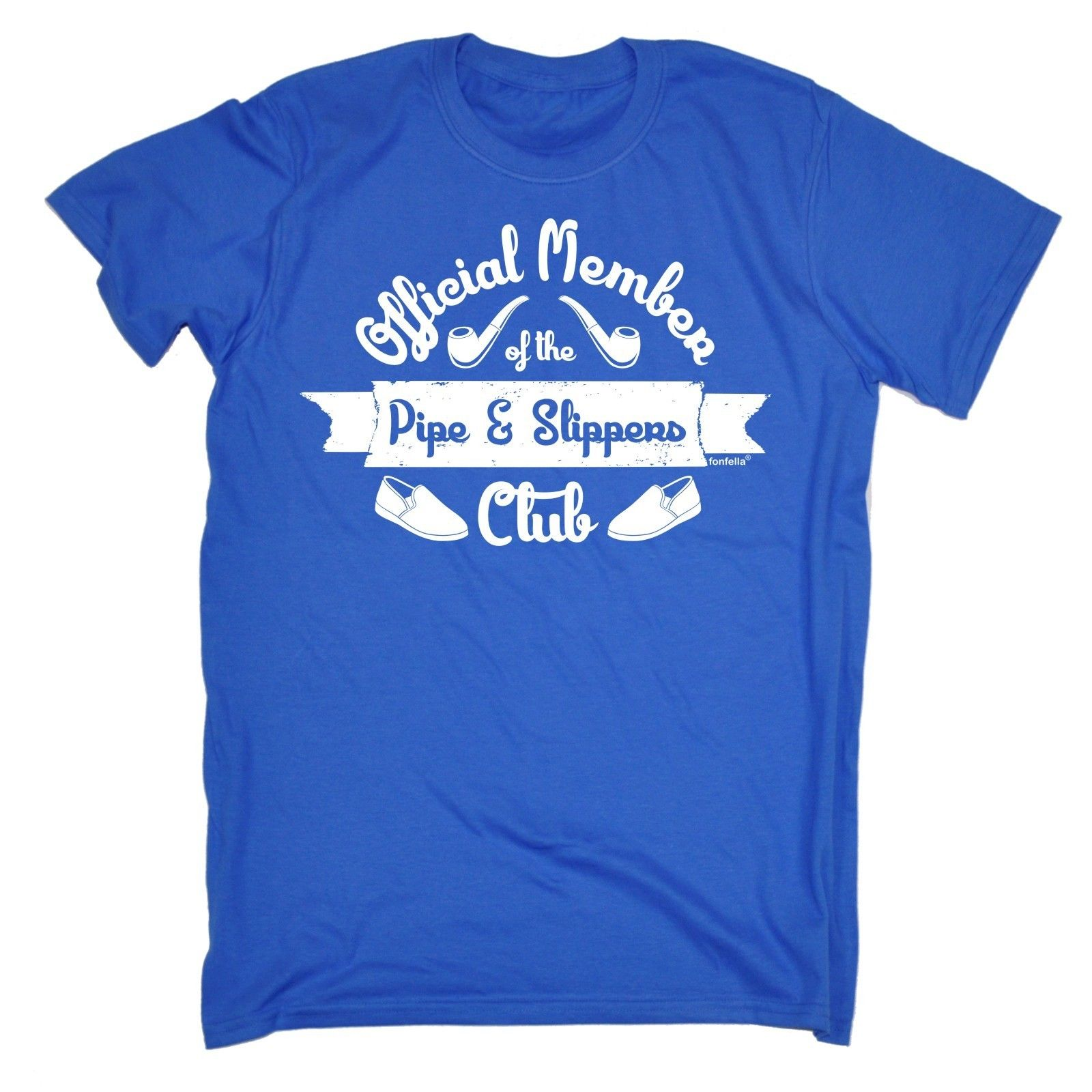 Member Pipe Slippers Club T Shirt Tee Retired Grandad Dad Funny Birthday Gift 100 Cotton Letter Printed Shirts In From Mens Clothing
