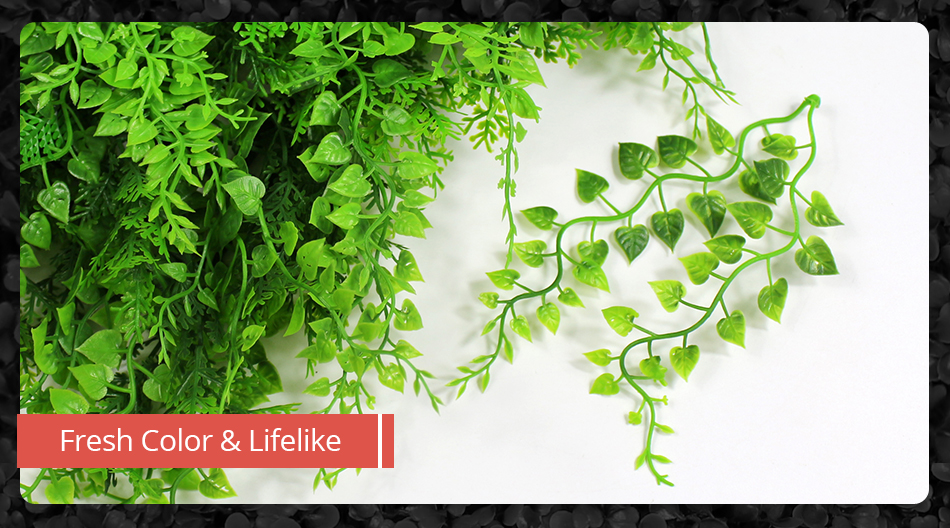 Faux Artificial Ivy Leaf Green Privacy Balcony Fence Screen Decoration 1MX1M Panels Hedges Yard Garden Wedding Decorations3