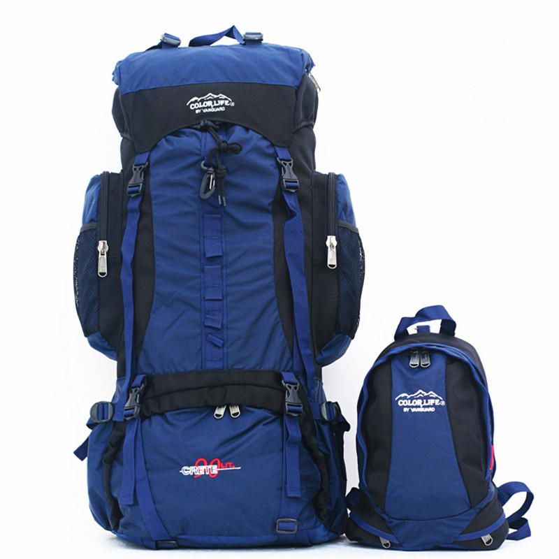 80L походный рюкзак для кемпинга, для спорта на открытом воздухе, большая емкость, сумки для альпинизма, рюкзак для путешествий, сумка для верховой езды, рыбалки