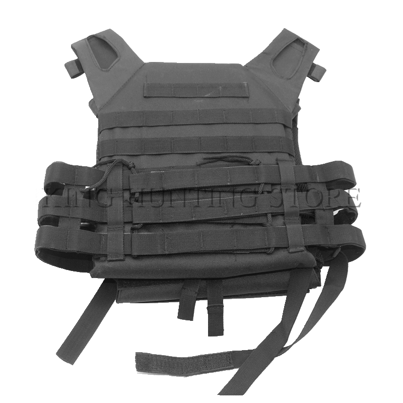 Tactical Laser-Cut JPC Vest Light-Weight MOLLE Lazer Special Plate Carrier Hunting Vest  ...