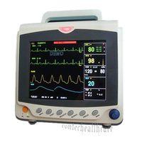 2016 equipment ICU Patient Monitor Vital Sign with ECG+NIBP+SPO2+PR 3y Warranty