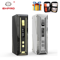 Free Gift Ehpro Cold Steel 200 TC Box MOD with 5 200W output By 18650 Battery Mod Box Vape Vaporizer vs Drag 2/ Aegis Solo Mod