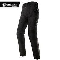 Scoyco P018 2 Водонепроницаемый Для мужчин Мотокросс брюки спортивные брюки мотогонок брюки со съемной теплой подкладкой Pantalon Moto