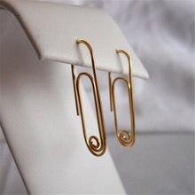 Геометрические серьги ювелирное изделие ручной работы позолота/серебро