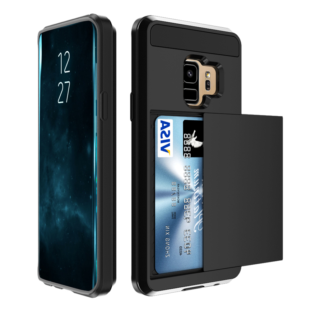 Luxury Dual Hybrid Hard Case Back Cover Shockproof Rubber For Samsung Galaxy S9 For Samsung Galaxy S9 Plus S9 in Fitted Cases from Cellphones Telecommunications