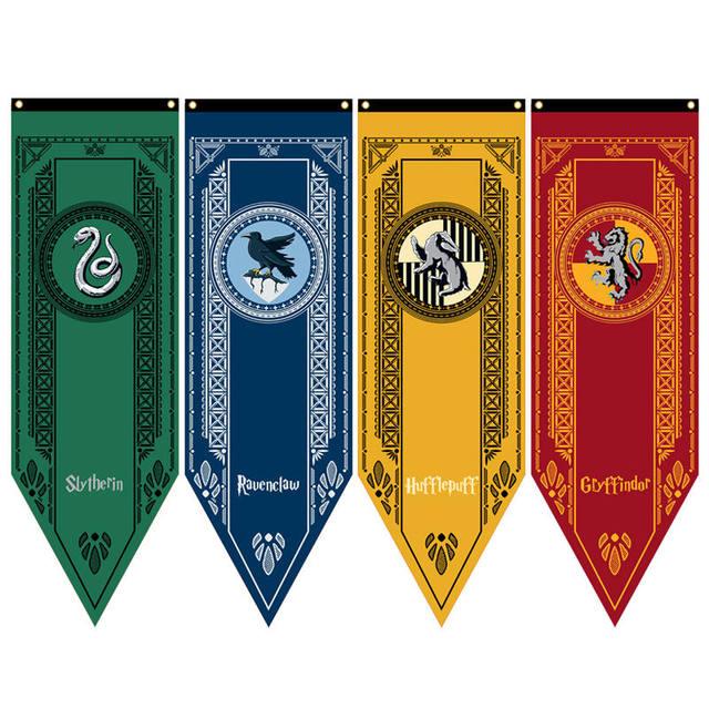 Harry Potter Hogwarts School Crests Tournament Banner