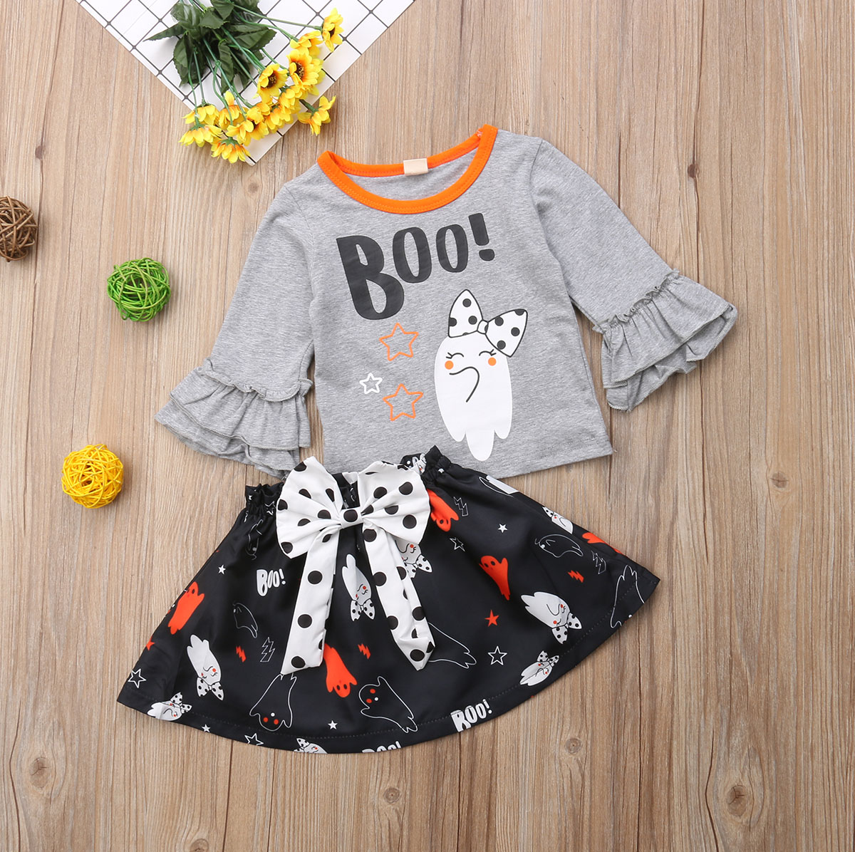aliexpress : buy halloween toddler baby girls cartoon pattern