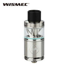 Original WISMEC Cylin Plus RTA Tank 3.5ml Cylin Plus Atomizer Top Filling Bottom Airflow Rebuildable Tank w/ Clapton Coil 0.4ohm