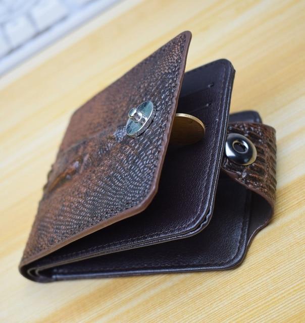 Men's Wallet Leather Alligator