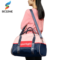 Hot Outdoor Luggage Bags Sports Gym Bag For Women Waterproof Foldable Fitness Training Shoulder Bag Large Tourist Travel Handbag 1