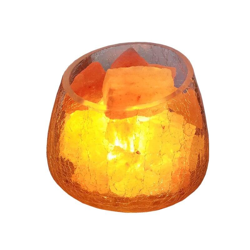 Здесь продается  Creative Gift Table Lamp Bedroom Bedside Lamp Living Room Decoration Himalayan Glass Salt Lamp Dimmable Night Light  Свет и освещение