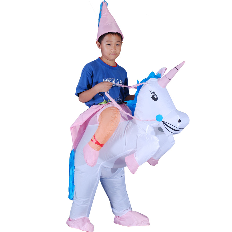 halloween costume for kids 40 to 50 inch tall kid cosplay costumes animal inflatable unicorn costume halloween party dress on aliexpresscom alibaba group