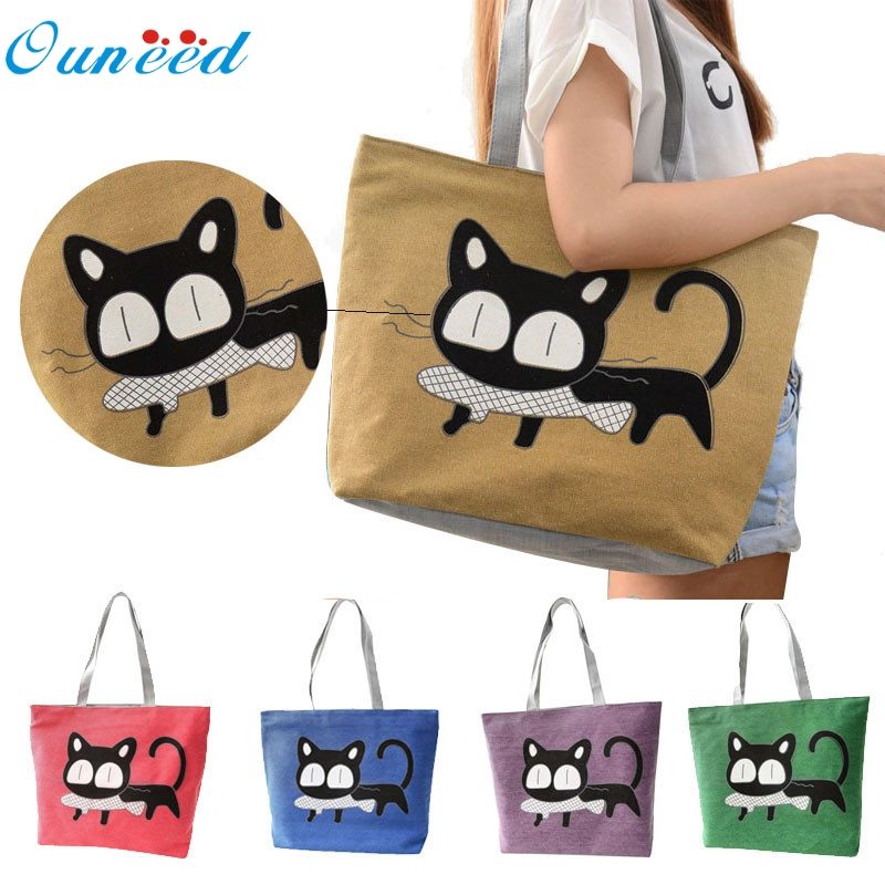 New Hot High Practicality Canvas New Trend American Apparel Canvas Shoulder Bag Messenger Shopping Bag 32