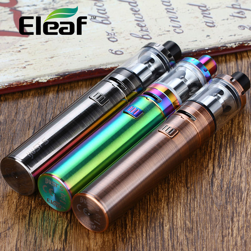 Original Eleaf IJust S Starter Kit 3000mAh Built-in Battery 4ml Ijust S Tank EC & ECL Coils 0.3ohm Electronic Cigarette Vape Kit