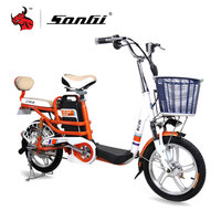 SONGI Electric Vehicle Electric Motorcycle Bike 48V Lithium Battery Motor Electric Bicycle Electric Pedal BIKE TDR222Z