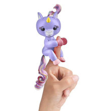 2018 New Finger Interactive Baby Unicorn Mini Interactive Finger Unicorn Toys Christmas Gift Kid All functions finger monkey(China)