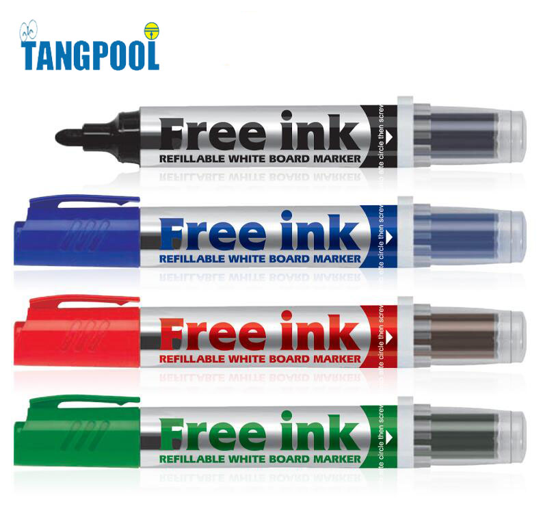 pen and whiteboard marker ink Create expressive, attention-grabbing whiteboard writing with this uniquely  flexible  a medium point as you write, making dynamic sweeps and tapers like a  brush pen the marker's vivid, alcohol-based ink ensures that your audience will  see.