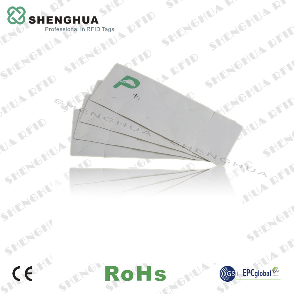 50pcs/lot Vehicle Access Control UHF Passive RFID Windshield Windscreen Tag With RIFD Chip Alien H3 Long Range Reading