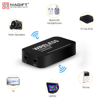 Magift Wireless Bluetooth Transmitter Receiver Mini 3.5mm Audio Cable 2in1 for iPod TV Mp3 Mp4 PC Speaker Stereo Dongle Adapter