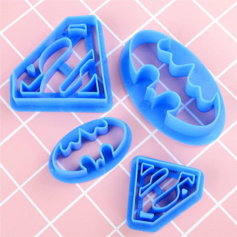 Cake Molds Kitchen,dining & Bar 4pcs/set Animals Cookie Cutter Set Cake Decorating Cooking Tools Gum Paste Cutter Tool
