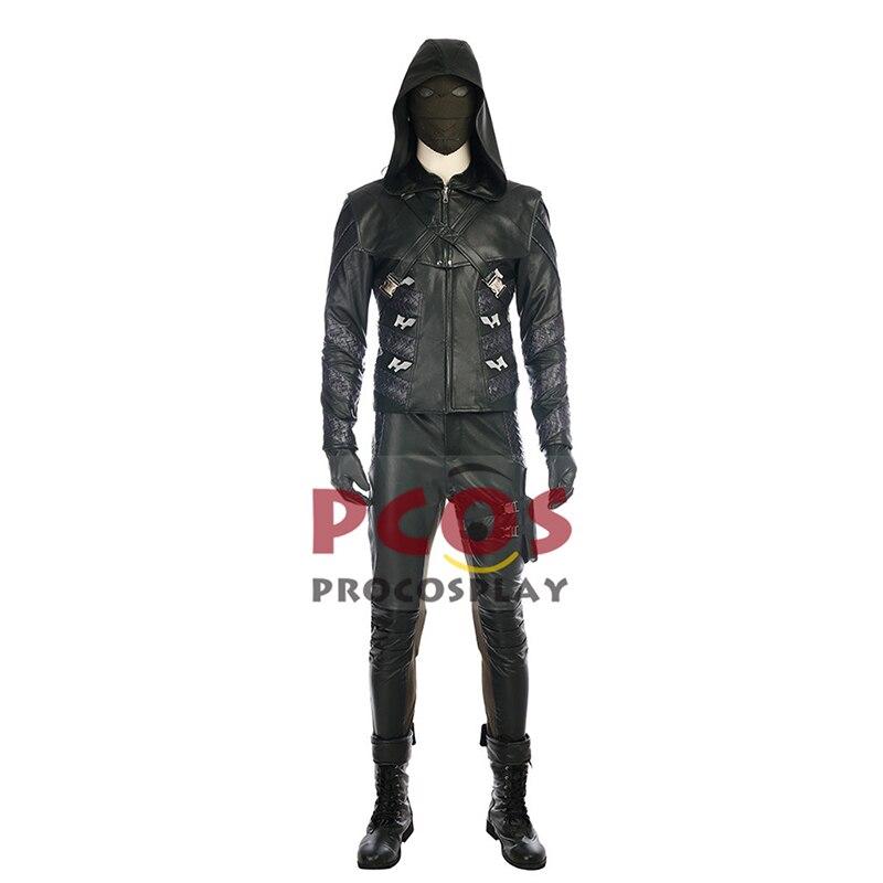 Vert flèche saison 5 Prometheus Cosplay déguisement & bottes mp003686