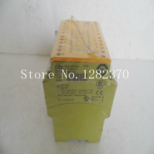 New original authentic Pilz safety relays PZE 9 24VDC 8n / o 1n / c spot 774150 [sa] new original authentic special sales schmersal safety relays srb301lc b spot