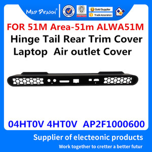 Great Buy MAD DRAGON Brand New For Dell Alienware 51M Area-51m ALWA51M Laptop Hinge Tail Rear Trim Cover Air Outlet Cover 04HT0V 4HT0V — teoeoasme