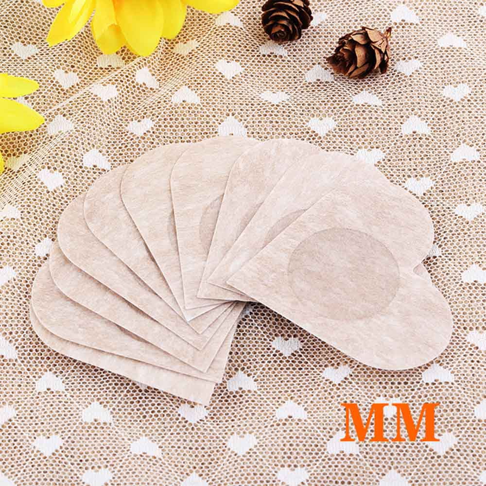 Hot 20 Pairs Disposable Heart Style Non woven Fabric Stickers Breathable Soft Nipple Breast Covers Sexy Nipple Device for Women in intimates 39 accessories from Underwear amp Sleepwears