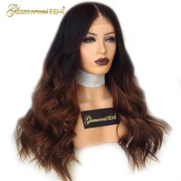 Glueless Malaysian Loose Body wave lace front wigs with baby hair 8 26 inch 1b 30 Human Virgin Hair 130%150% 180% Density wigs