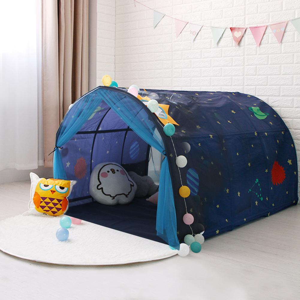Kinder Bett Zelt Spiel Haus Baby Hause Atmungs Zelt Junge Mädchen Sicher Haus Tunnel Outdoor Camping Baby Strand Zelt - 5