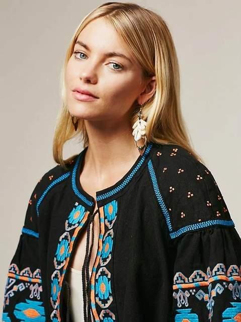 Fashion Embroidery Online Women's Fall Heavy 2018 Shop Style Season 88XqPw